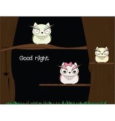 Night Time vector image vector image