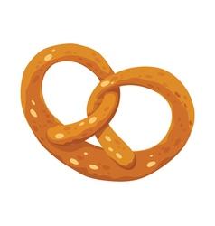 pretzel fine vector image vector image