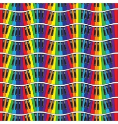 Piano keys Seamless vector image vector image