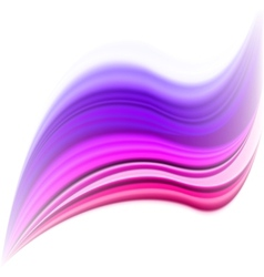Abstract pink waves design vector image
