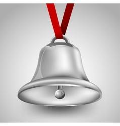 Bell metallic vector