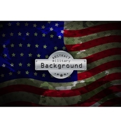 Camouflage military pattern flag usa background vector