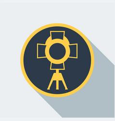 cinema light icon vector image