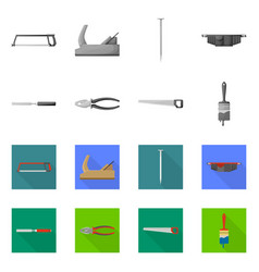 Isolated object household and repair symbol vector