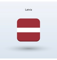 Latvia flag icon vector