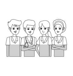 medical professional people design vector image