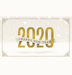 new year 2020 design vector image