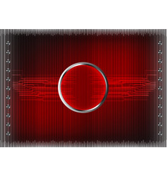 Set of lines on a red background vector