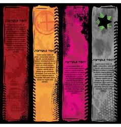 banner set vector image vector image