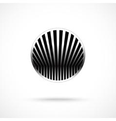 Design round symbol template vector image