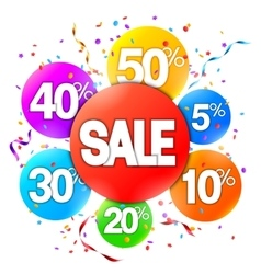 Sale Event Advertisment vector image