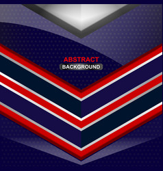 geometric blue background design vector image