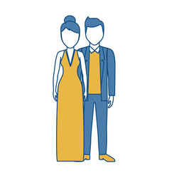 Couple icon image vector