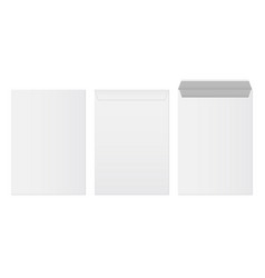 Creative of white blank paper vector