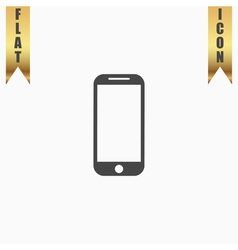 Mobile phone sign icon vector image