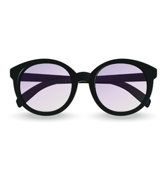 Sunglasses realistic icon vector