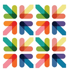 colourful arrows vector image vector image