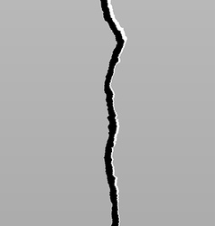Earth Crack 6 vector image
