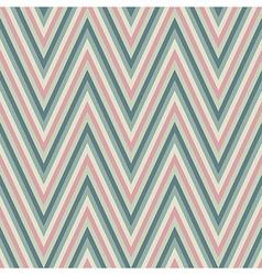 vintage zigzag chevron pattern vector image