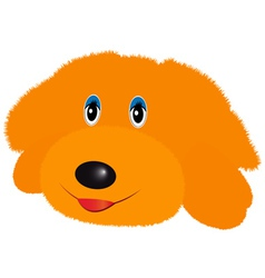 doggy soft toy vector image vector image