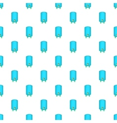 Boiler or water heater pattern cartoon style vector