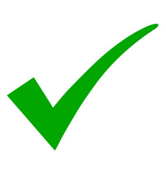 Confirm tick icon vector
