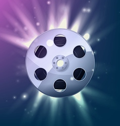 Film Reel Icons vector