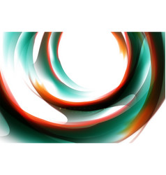 holographic fluid colors flow colorful liquid vector image