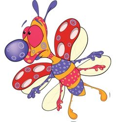 Ladybird A soft toy vector