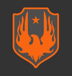 pheonix logo vector image