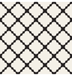 Seamless Black And White Wavy Lines vector