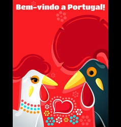Welcome to portugal vector