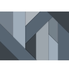 Geometrical background cool gray color vector