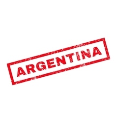 Argentina Rubber Stamp vector