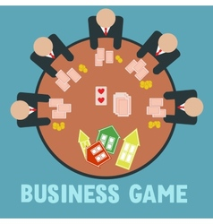 Business game vector