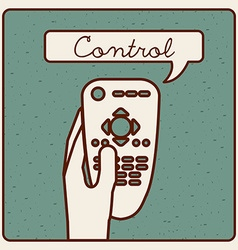 Control remote vector