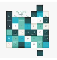 Convenient planner vector