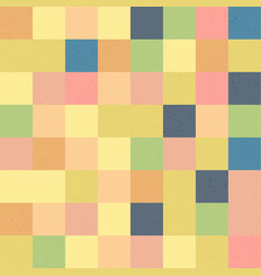 happy easter mosaic seamless textured pattern vector image