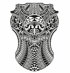 Maori ethnic style vector