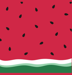 minimalist summer watermelon wallpaper vector image
