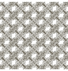 Seamless background in Baroque style vector image