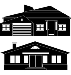 Private house vector image