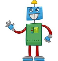 Robot fantasy character vector