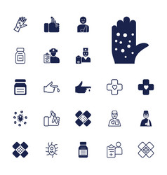 22 pain icons vector