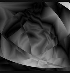 abstract blackandwhite metal glitch circular vector image