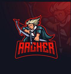 Archer detailed esport vector