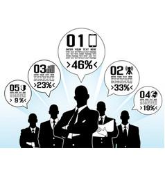 businessman concept options vector image