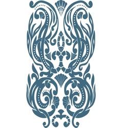 Corner Art Deco style vector