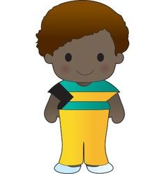 Poppy Bahamas Boy vector