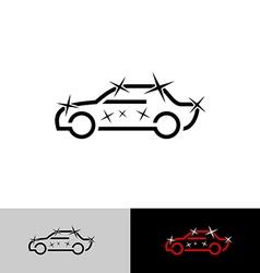 Car polish logo vector image vector image